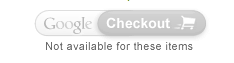 The disabled Google Checkout button on the Magento cart/checkout screen. It looks like the normal one only greyed out.