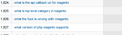 A frustrated Magento developer looking for answers?! I know the feeling!