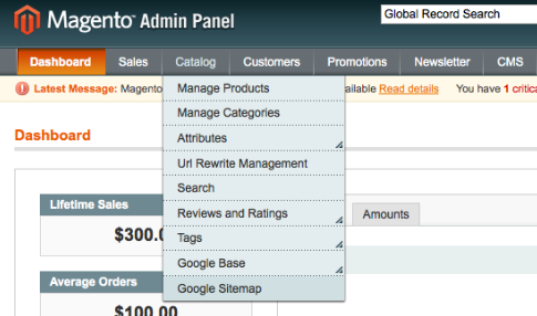 sitemap submit magento extension to submit your google sitemap