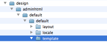 Put the smtppro templates into the default adminhtml templates directory.