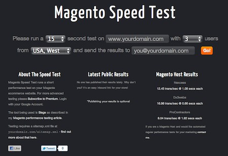Magespeedtest Version 2